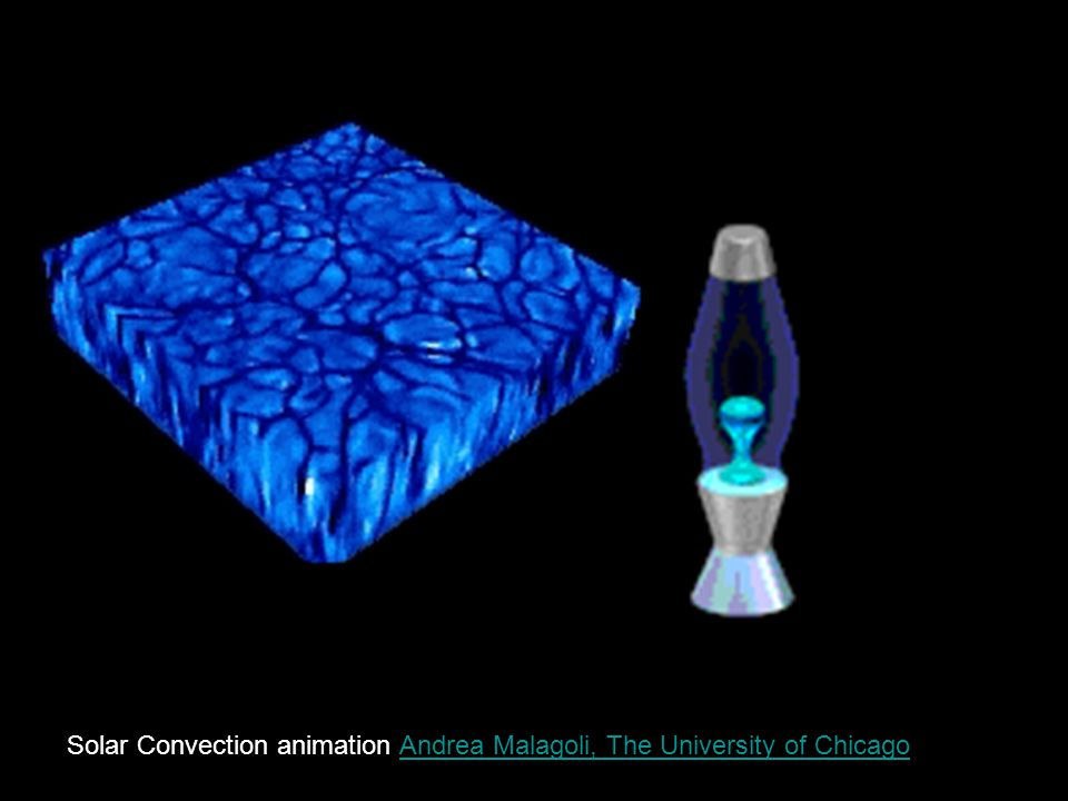 Solar Convection animation Andrea Malagoli, The University of Chicago