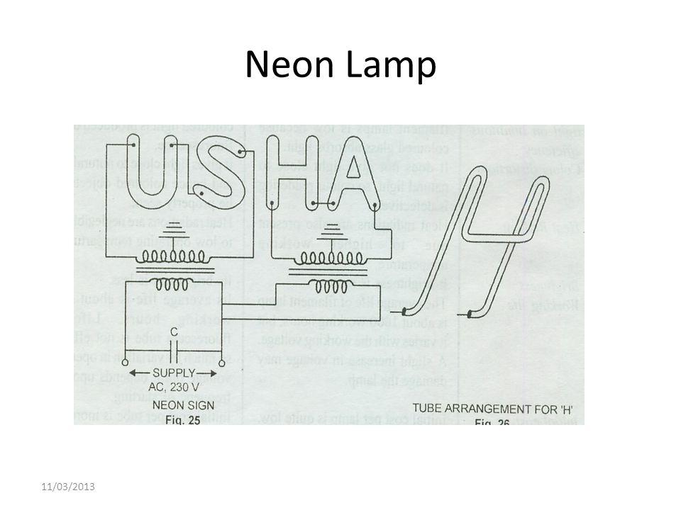Neon Lamp 11/03/2013
