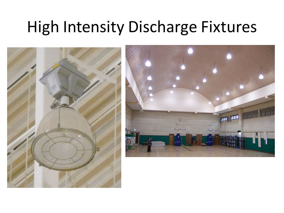 High Intensity Discharge Fixtures