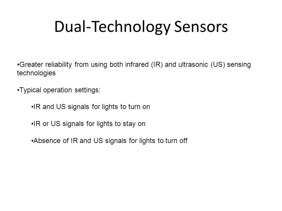 Dual-Technology Sensors
