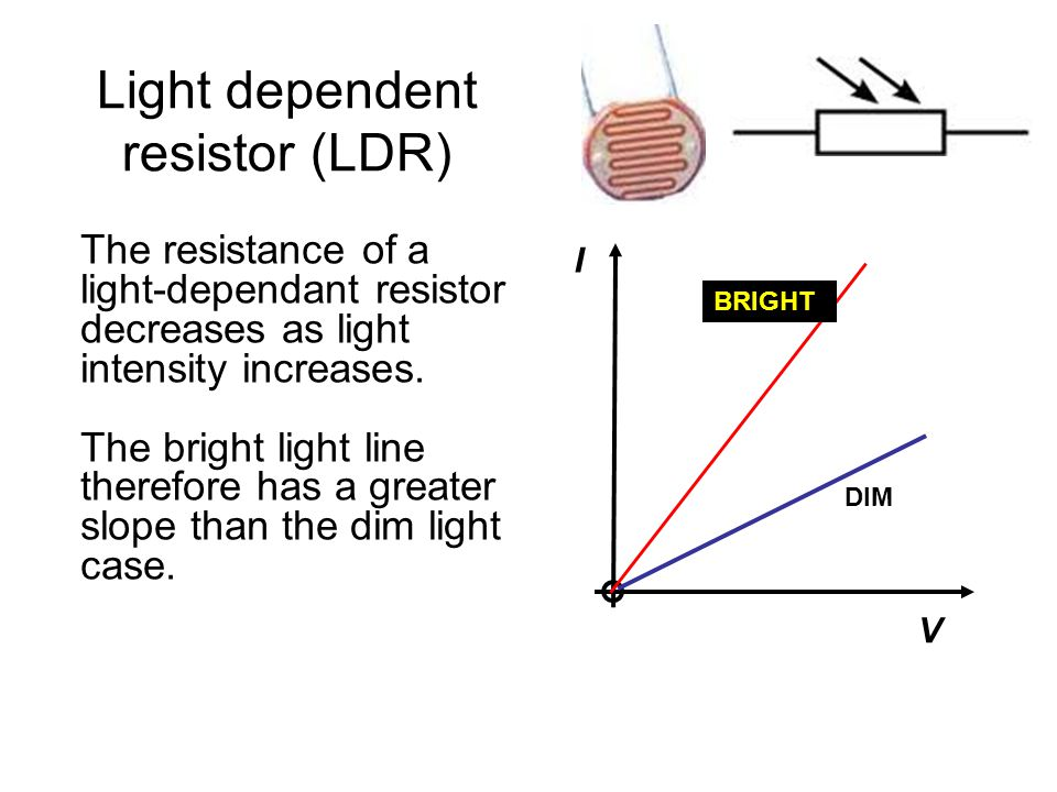 the relationship between the input and output of an ldr essay Tutorial about electronic sensors and transducers used as input and output   simple stand alone electronic circuits can be made to repeatedly flash a light or  play  light level, light dependant resistor (ldr)  average them to give the  final value so increasing the signal-to-noise ratio  summary of transducers  10.