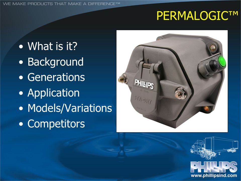 PERMALOGIC™ What is it Background Generations Application