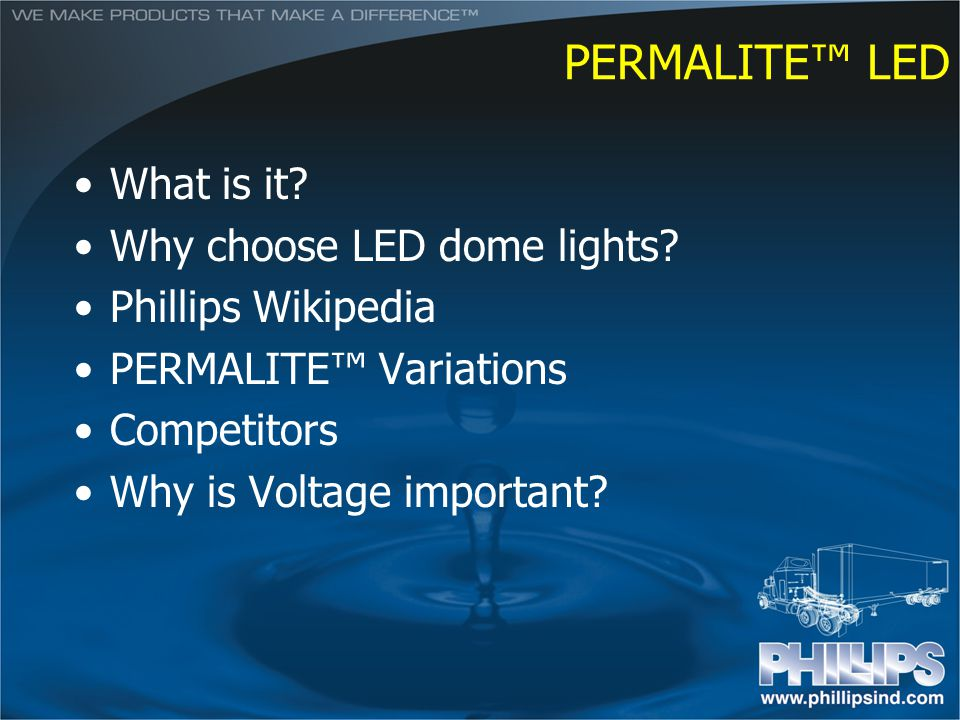 PERMALITE™ LED What is it Why choose LED dome lights