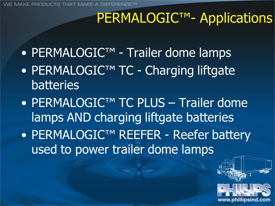 PERMALOGIC™- Applications