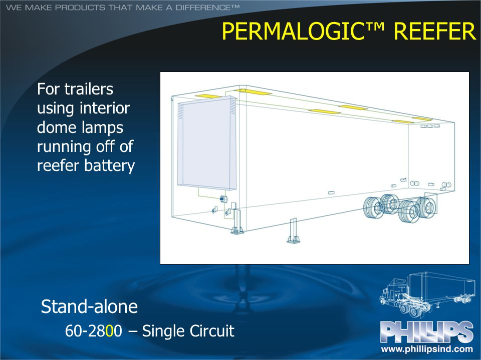 PERMALOGIC™ REEFER Stand-alone