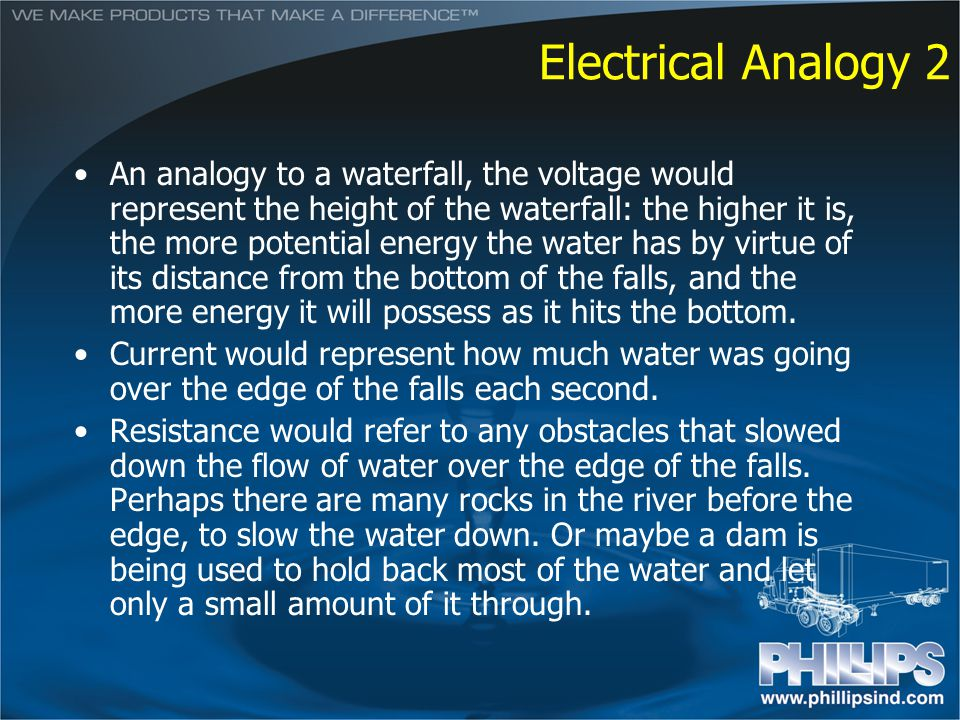 Electrical Analogy 2