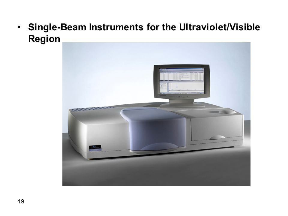 Single-Beam Instruments for the Ultraviolet/Visible Region