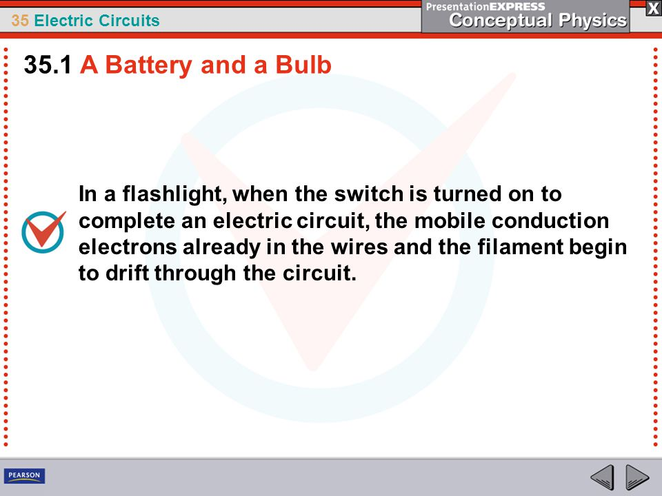35.1 A Battery and a Bulb