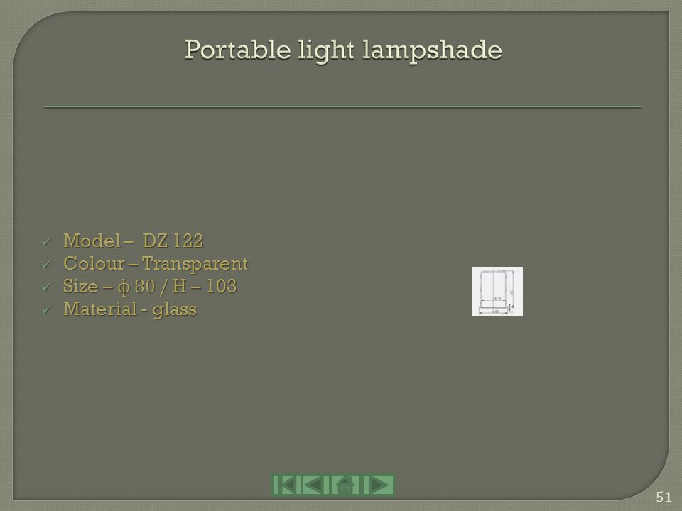 Portable light lampshade