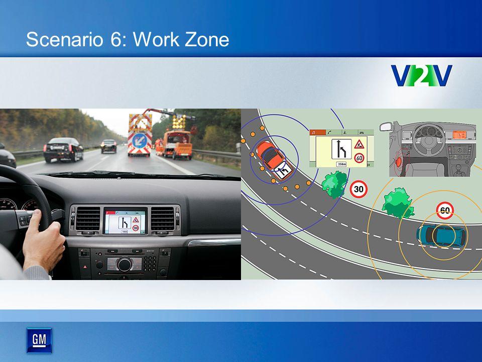 Scenario 6: Work Zone