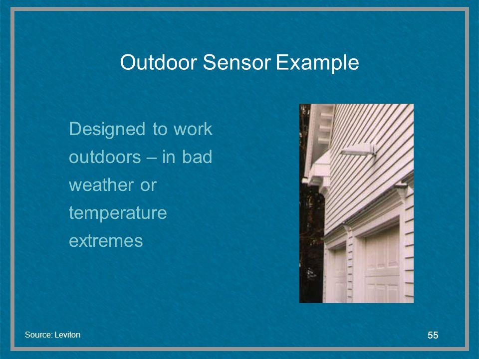 Outdoor Sensor Example