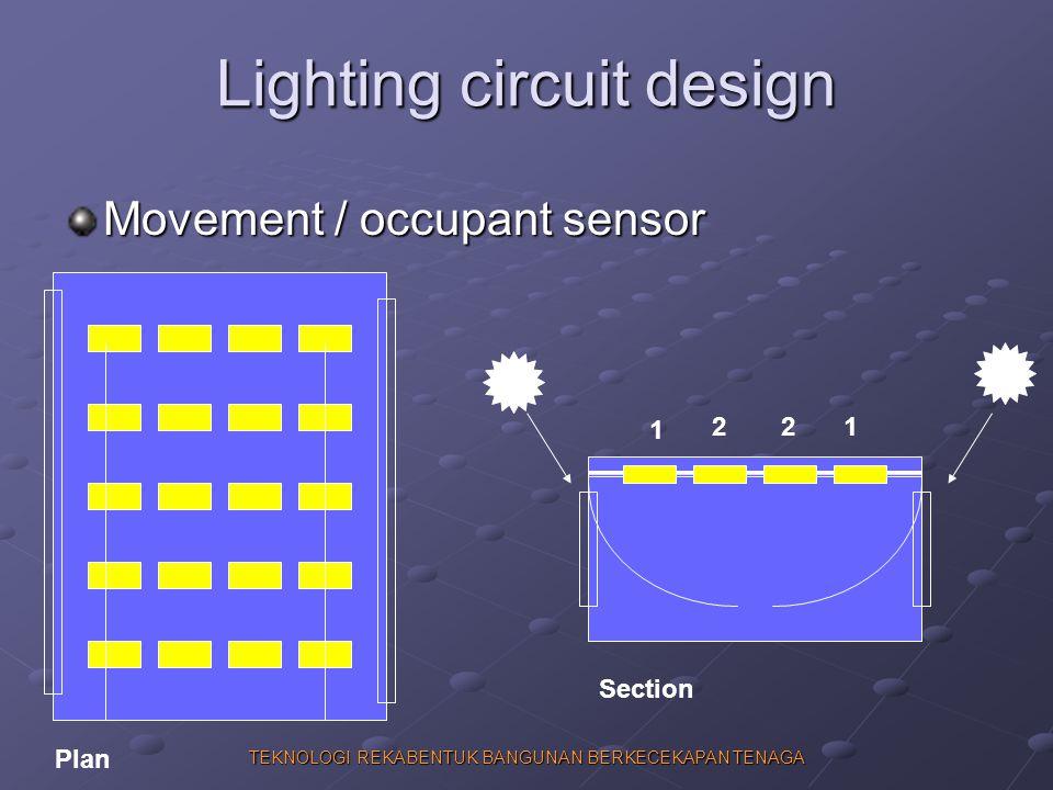 Lighting circuit design
