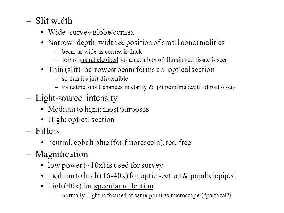 Light-source intensity