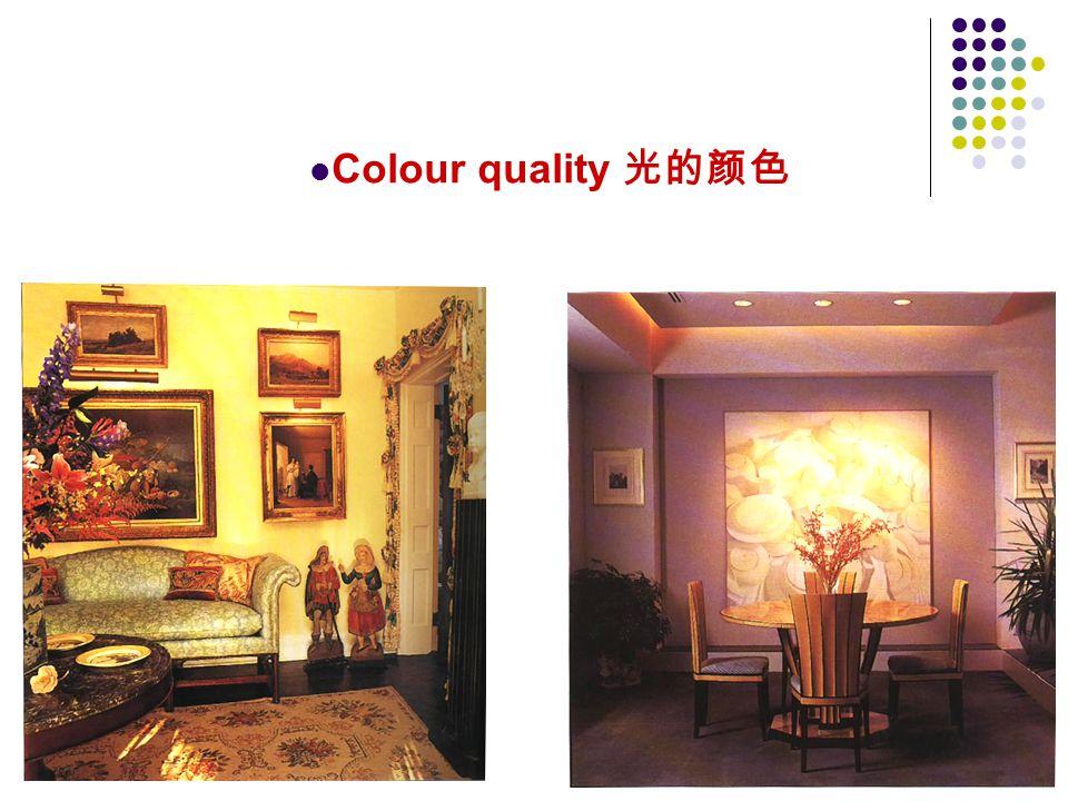 Colour quality 光的颜色 48
