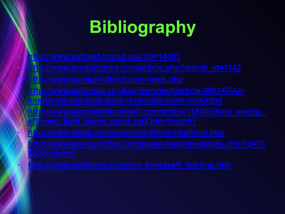 Bibliography http://www.pathnet.org/sp.asp id=16591