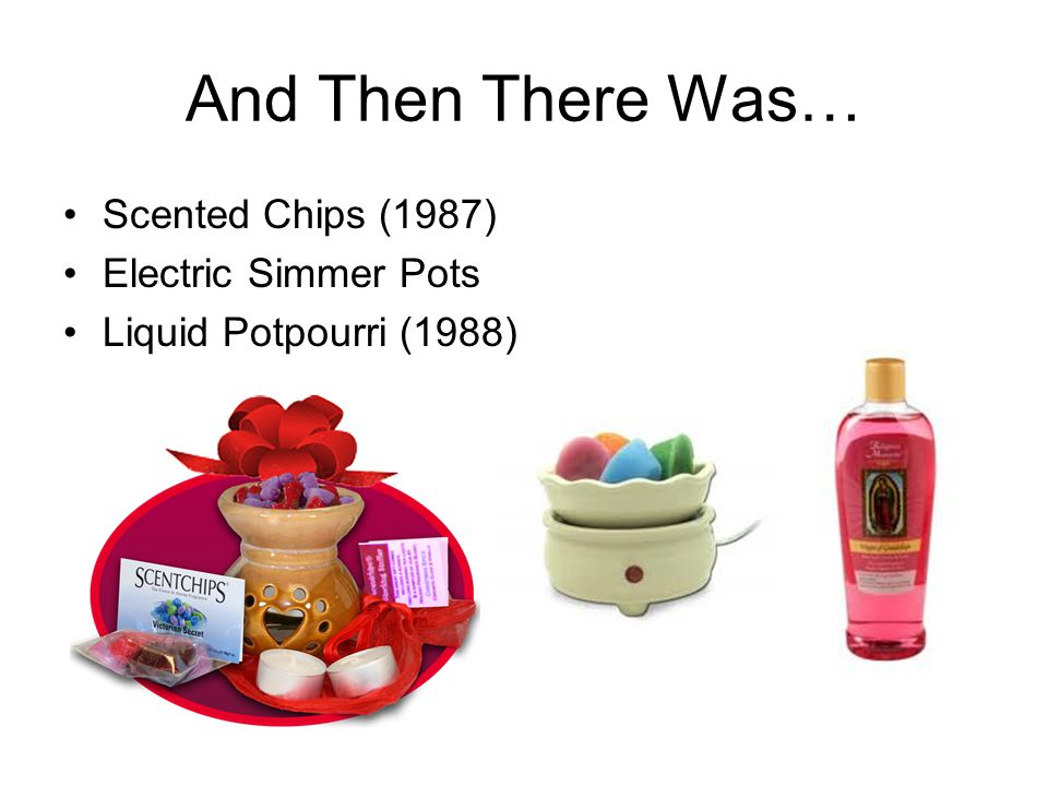 And Then There Was… Scented Chips (1987) Electric Simmer Pots
