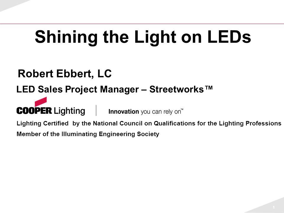 Shining the Light on LEDs