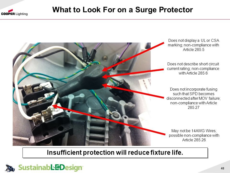 What to Look For on a Surge Protector