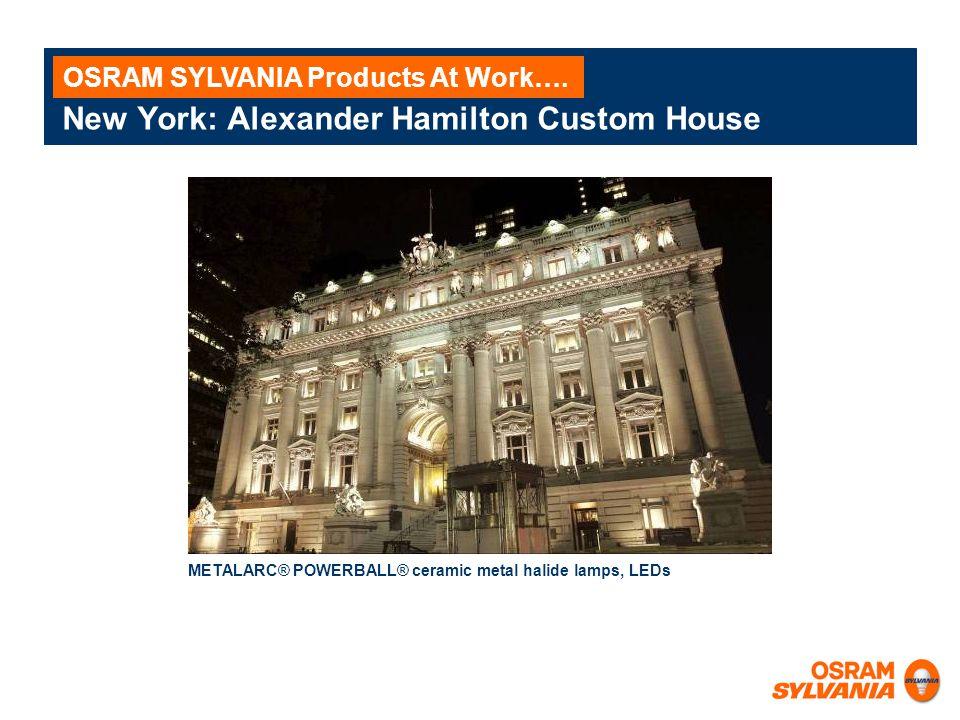 New York: Alexander Hamilton Custom House