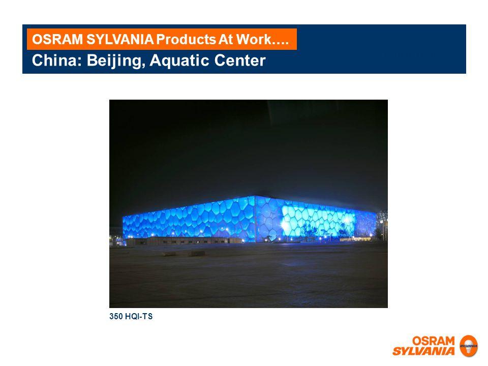 China: Beijing, Aquatic Center