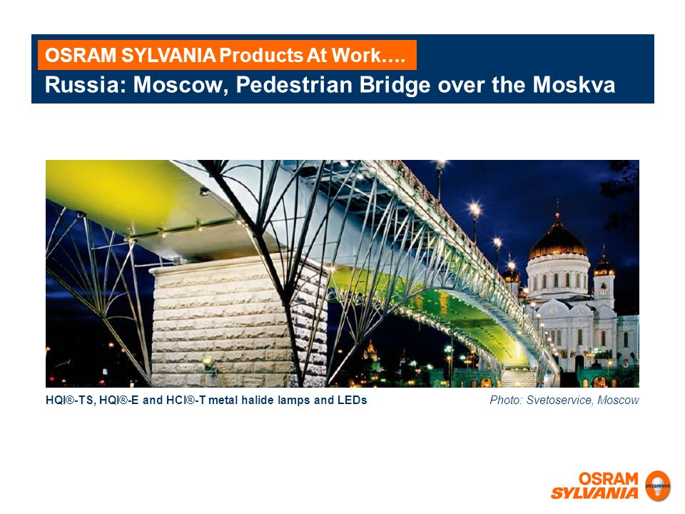 Russia: Moscow, Pedestrian Bridge over the Moskva