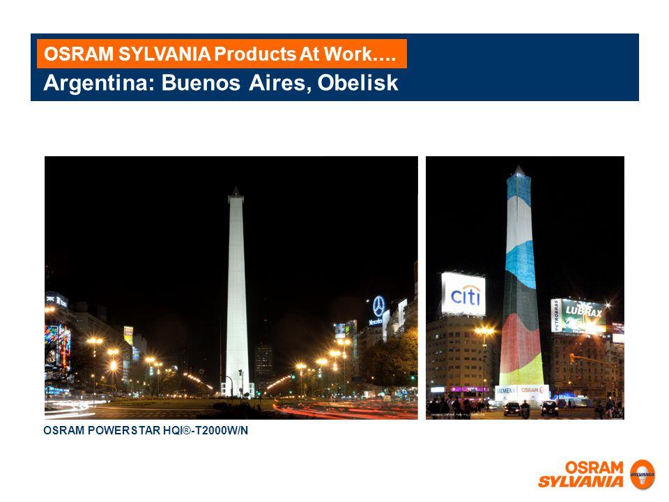 Argentina: Buenos Aires, Obelisk