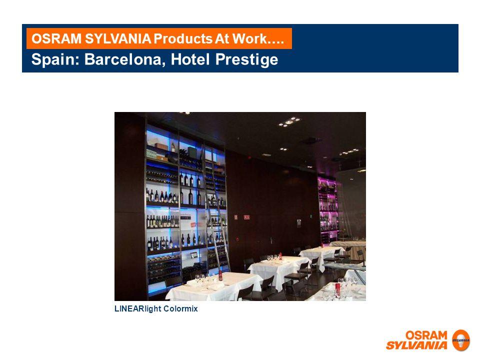 Spain: Barcelona, Hotel Prestige