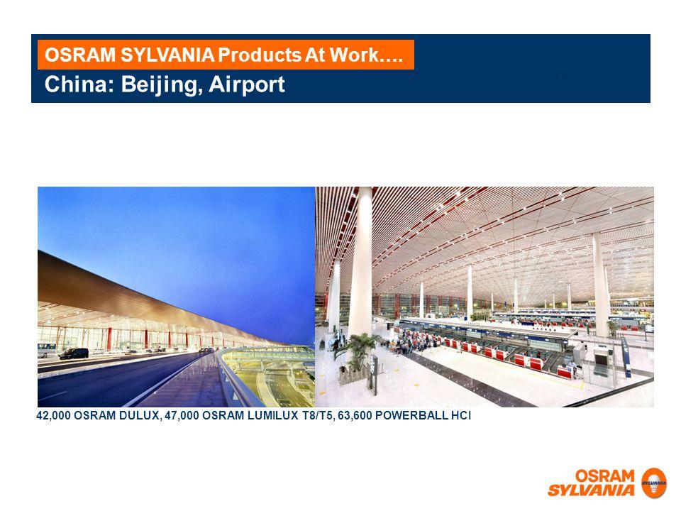 China: Beijing, Airport