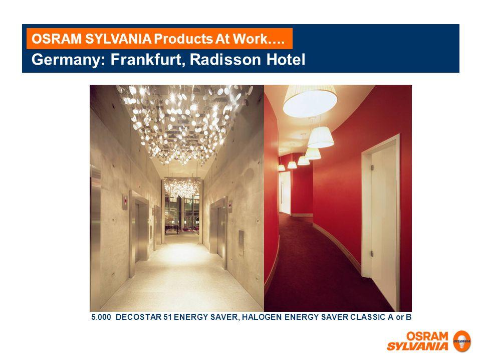 Germany: Frankfurt, Radisson Hotel