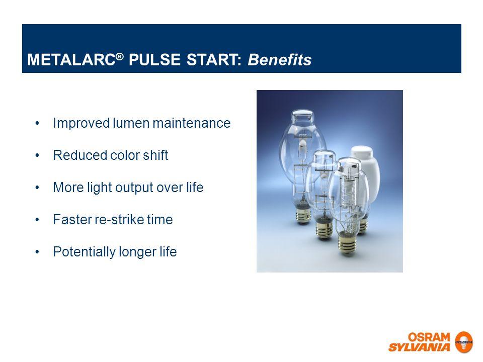 METALARC® PULSE START: Benefits