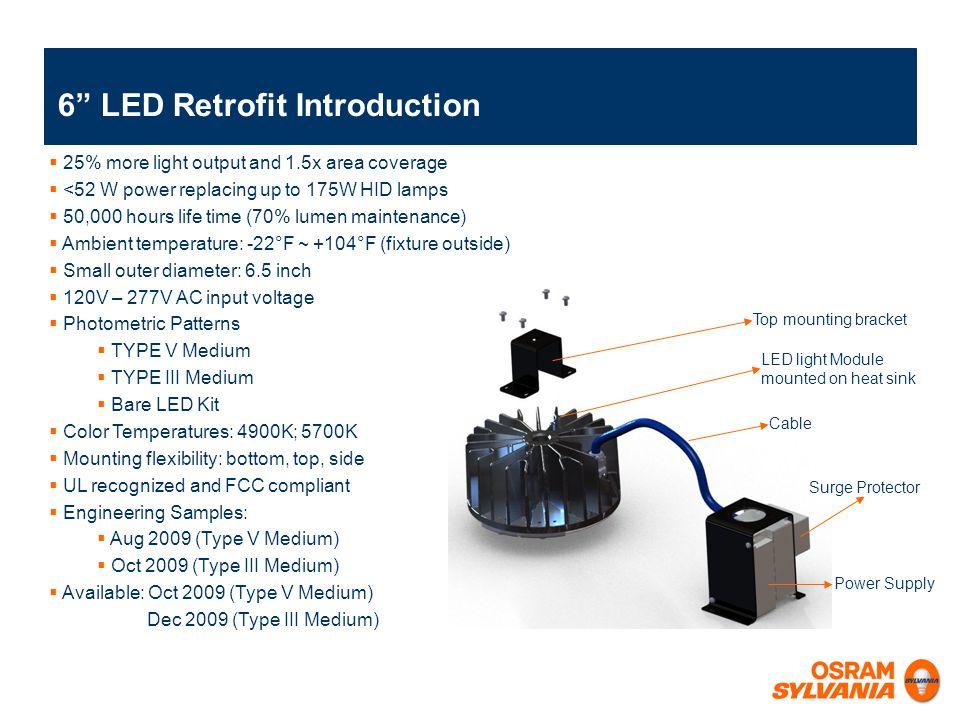 6 LED Retrofit Introduction