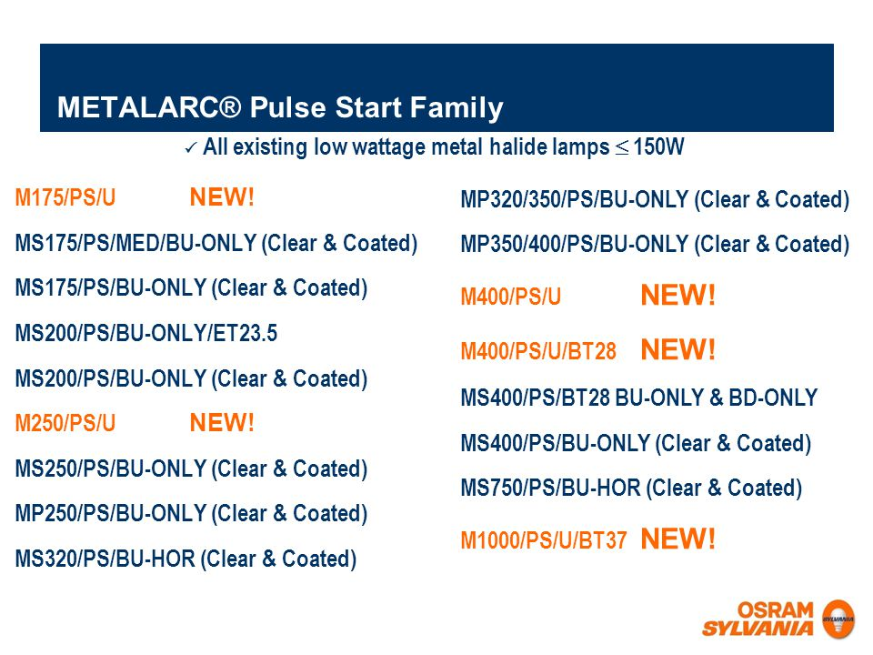 METALARC® Pulse Start Family