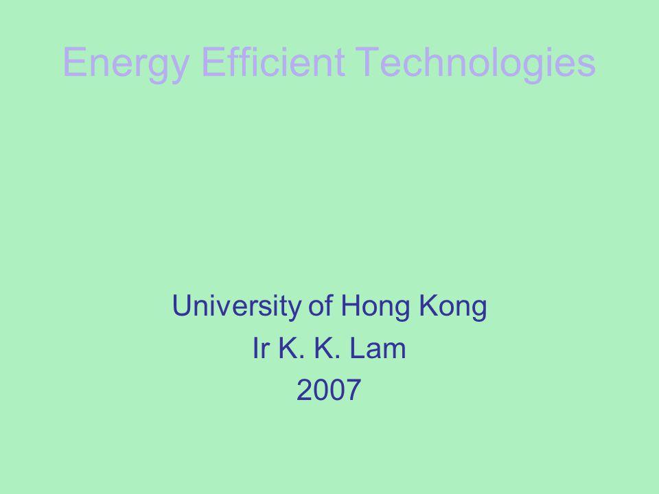 Energy Efficient Technologies