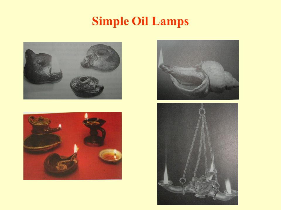 Simple Oil Lamps