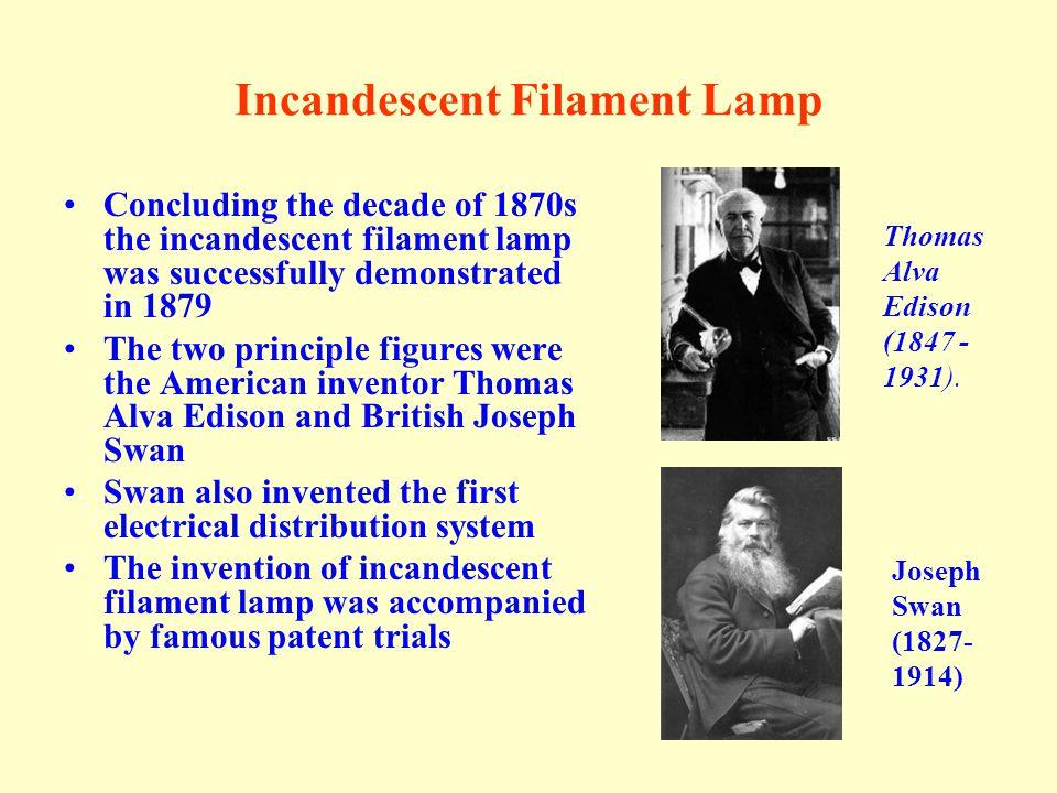 Incandescent Filament Lamp