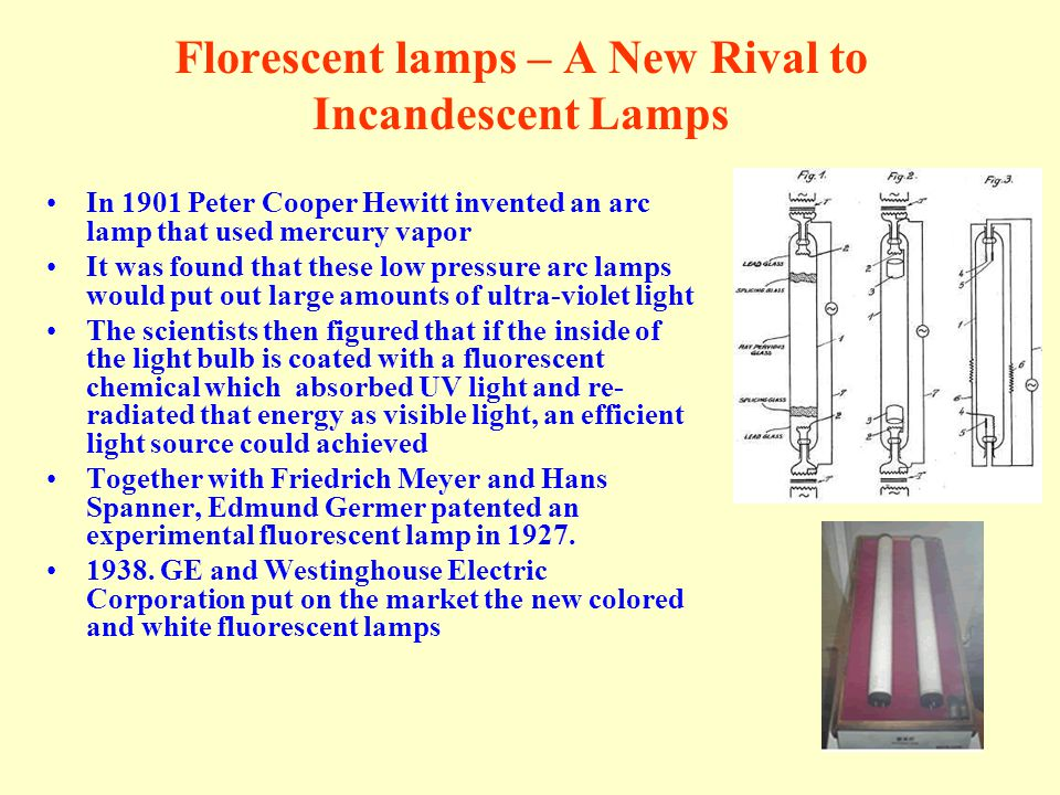 Florescent lamps – A New Rival to Incandescent Lamps