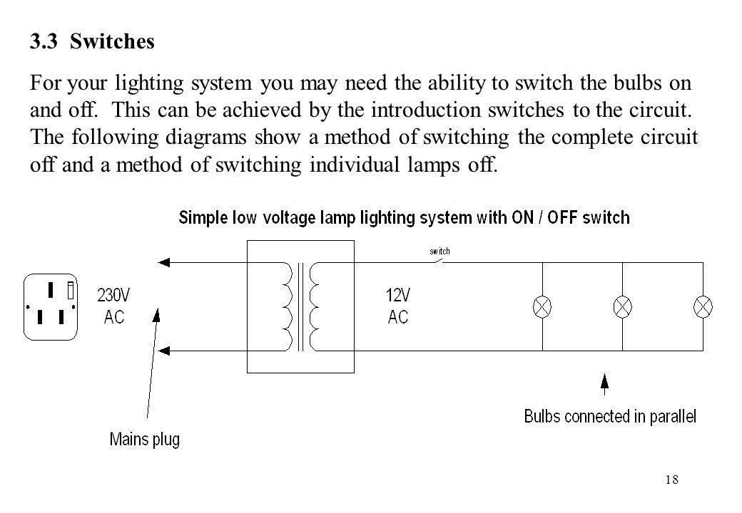 3.3 Switches