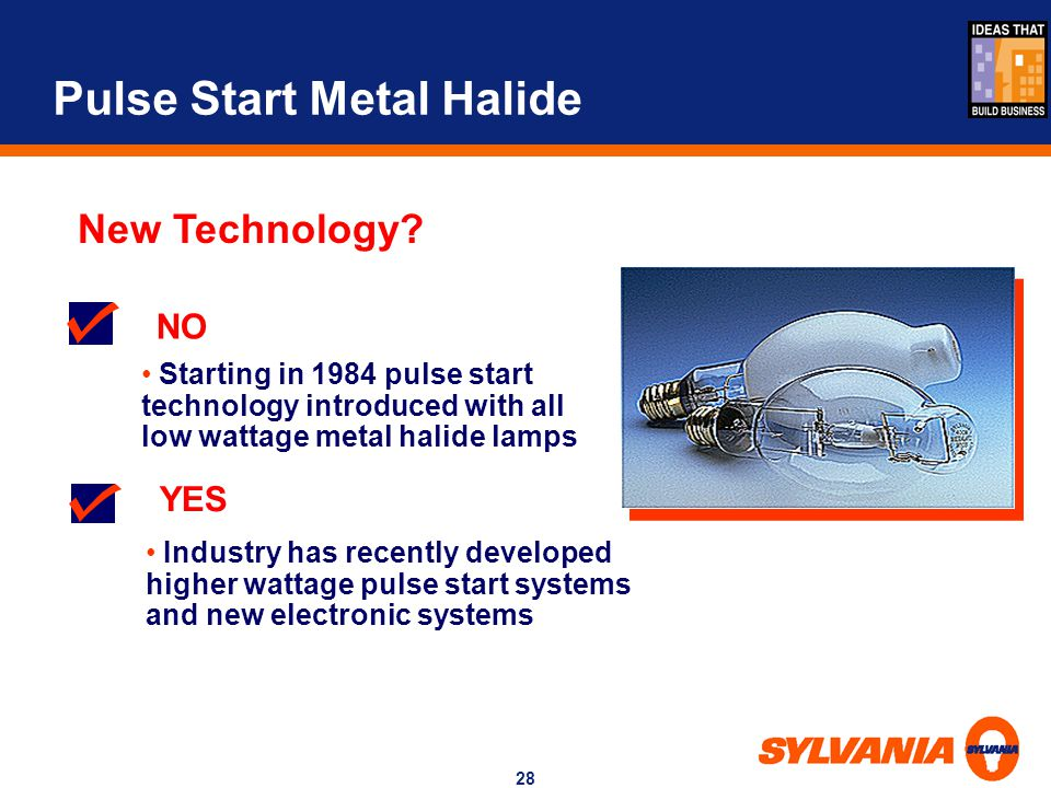 Pulse Start Metal Halide