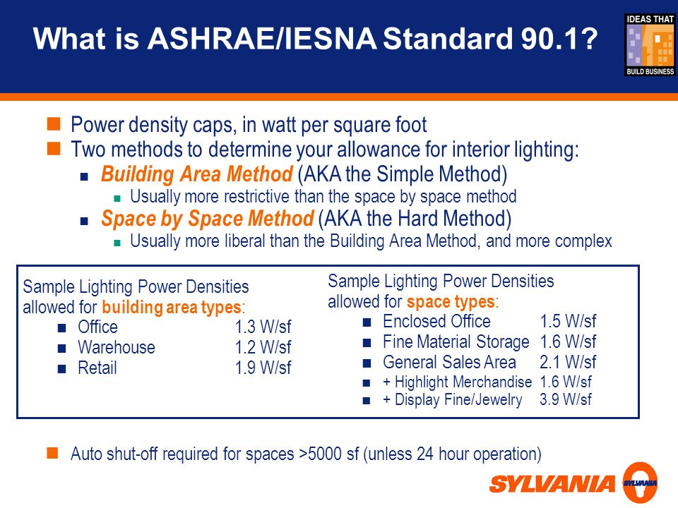 What is ASHRAE/IESNA Standard 90.1