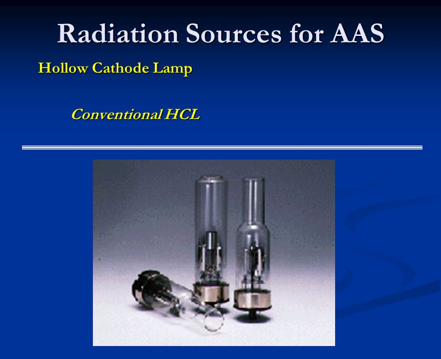 Radiation Sources for AAS