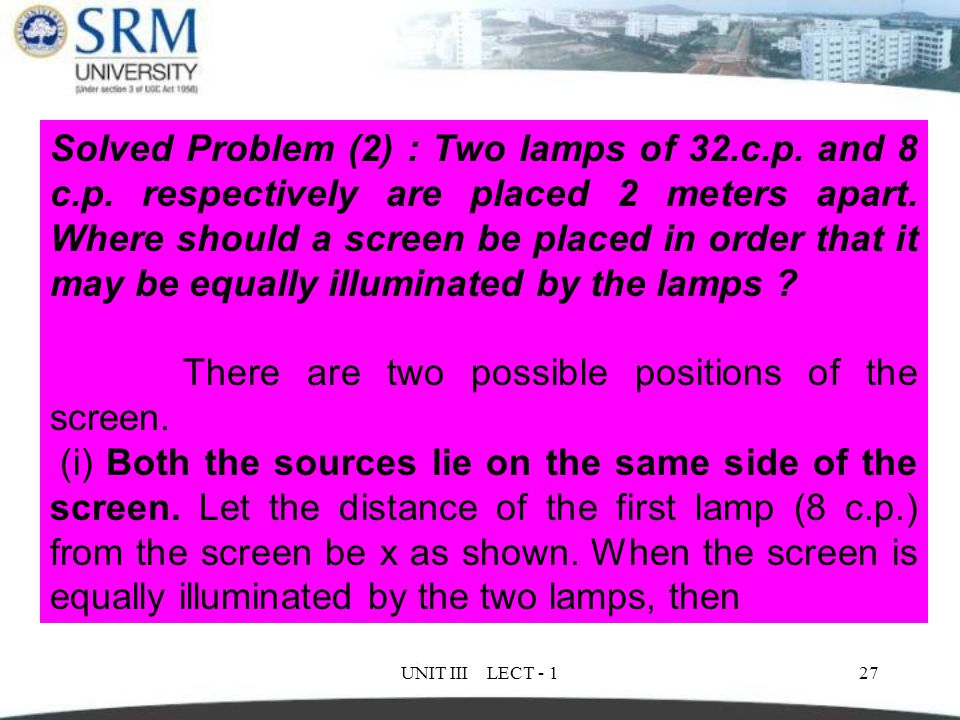 There are two possible positions of the screen.