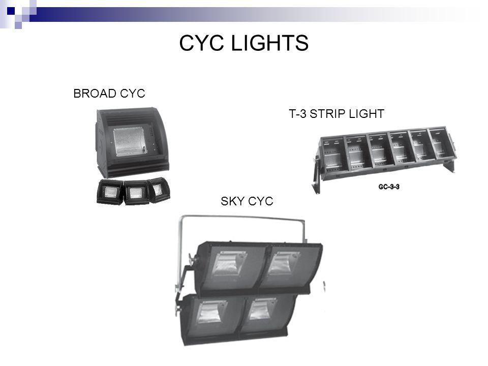 CYC LIGHTS BROAD CYC T-3 STRIP LIGHT SKY CYC