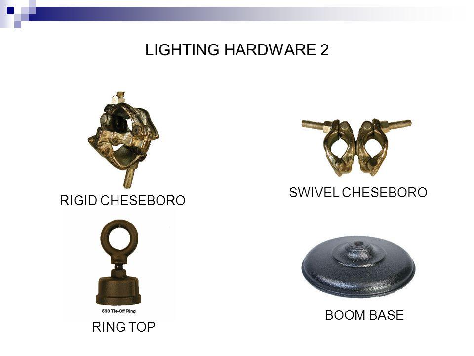 LIGHTING HARDWARE 2 SWIVEL CHESEBORO RIGID CHESEBORO BOOM BASE
