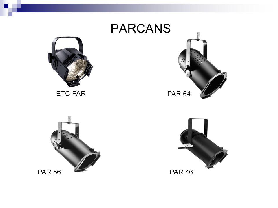 PARCANS ETC PAR PAR 64 PAR 56 PAR 46