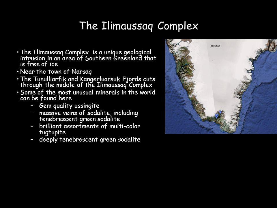 The Ilimaussaq Complex