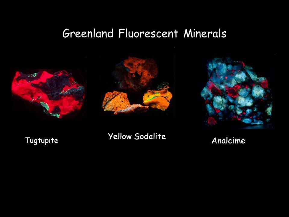 Greenland Fluorescent Minerals