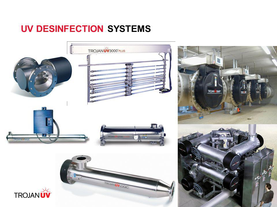 UV DESINFECTION SYSTEMS