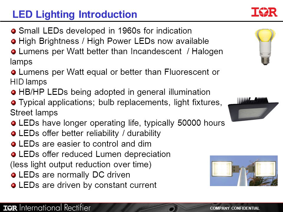 LED Lighting Introduction