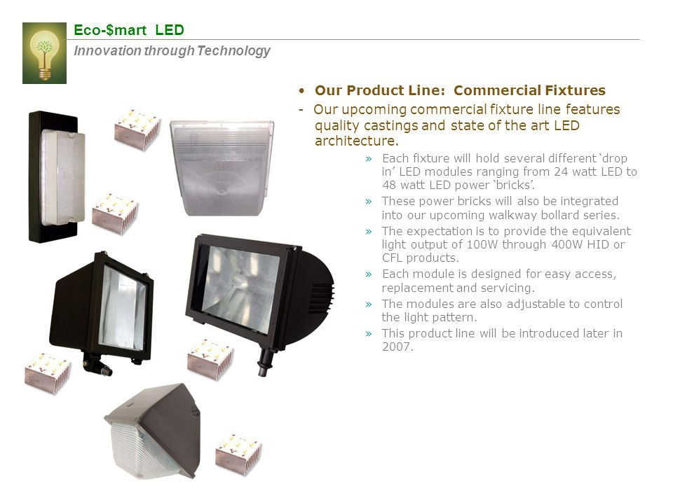 Eco-$mart LED Innovation through Technology