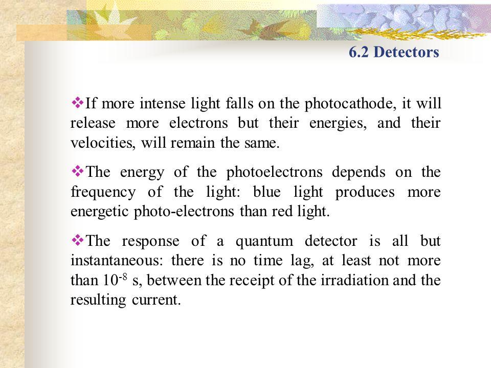 6.2 Detectors